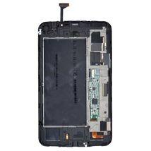 Матрица с тачскрином (модуль) Samsung Galaxy Tab 3 7.0 SM-T211 белый с рамкой