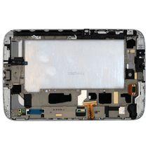 Матрица с тачскрином (модуль) для Samsung Galaxy Note 8.0 GT-N5100 белый с рамкой
