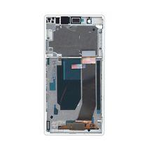 Матрица с тачскрином (модуль) для Sony Xperia Z C6603 черный с белой рамкой