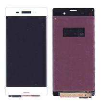 Матрица с тачскрином (модуль) для Sony Xperia Z3 D6603 белый