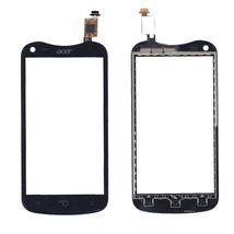Тачскрин (Сенсорное стекло) для Acer Liquid E2 Duo V370 черное