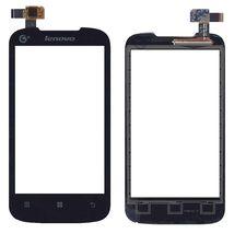 Тачскрин (Сенсорное стекло) для Lenovo IdeaPhone A369i черный