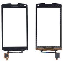 Тачскрин (Сенсорное стекло) для Samsung Wave II GT-S8530 черный