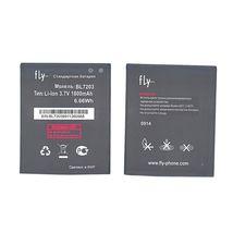 Оригинальная аккумуляторная батарея для смартфона Fly BL7203 IQ4405, IQ4413 3.7V Black 1800mAh 6.66Wh