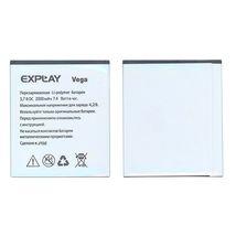 Оригинальная аккумуляторная батарея для смартфона Explay Vega 3.7V White 2000mAhr 7.4Wh