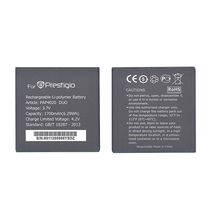 Оригинальная аккумуляторная батарея для смартфона Prestigio PAP4020 4020 Multiphone 3.7V Black 1700mAhr 6.29Wh