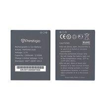 Оригинальная аккумуляторная батарея для смартфона Prestigio PAP5450 5450 Multiphone 3.7V Black 1500mAh 5.55Wh