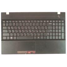 Клавиатура для ноутбука Samsung (300V5A, 305V5A, NP305V5A, NV300V5A) Black, с топ панелью (Black), RU