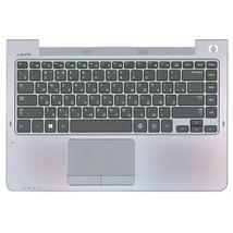 Клавиатура Samsung (535U4C) Black, с топ панелью (Gray), RU