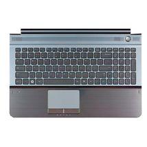 Клавиатура Samsung (RC510) Black, с топ панелью (Gray), RU