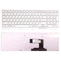 Клавиатура Sony Vaio (VPC-EL) White, (White Frame), RU