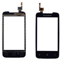 Тачскрин (Сенсорное стекло) для Lenovo IdeaPhone A390 черный