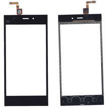 Тачскрин (Сенсорное стекло) для Xiaomi Mi-3 черный